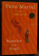 Martel, Yann.  Beatrice and Virgil.  Signed, First Edition