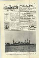 1900 Hms Belle Isle Gun Trials Surrey Gloucestershire Cricket Oval Hayward