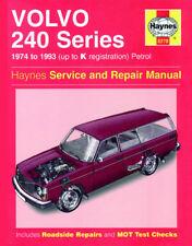 HAYNES WORKSHOP SERVICE & REPAIR MANUAL BOOK VOLVO 240 242 244 245 1974-1993