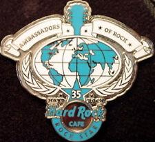 "Hard Rock Cafe 2006 ""ROCK STAR"" Ambassadors of Rock HRC 35 35th Year PIN #36288"