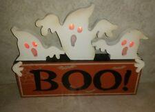 Halloween LED Creepy Ghost Sign
