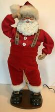 Animated Musical Dancing Santa Plays Jingle Bell Rock No Batteries Required!