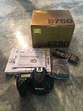Nikon D D750 24.3MP Digital SLR Camera - Black (Body Only) - Only 423 on Shutter