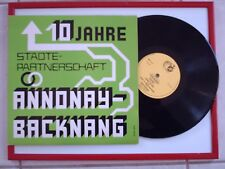 DISQUE 33T/25cm - JUMELAGE ANNONAY / BACKNANG  1967 - 1977 - LABEL ABM LYON -