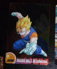 DRAGON BALL Z DBZ MORINAGA WAFER CARD CARDDASS PRISM CARTE 008 3D MADE JAPAN NM