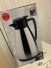 New listing Copco Verona 2qt Stainless Steel Hot/Cold Carafe