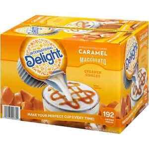 International Delight Caramel Macchiato Coffee Creamer Singles (192 ct.)