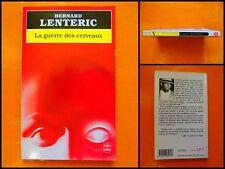 La guerre des cerveaux. Bernard Lenteric. Le Livre de Poche Policier N° 7509