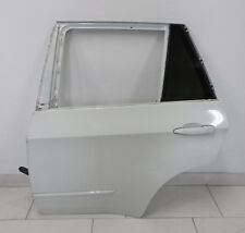 Bmw x5 m e70 puerta trasera izquierda del copiloto + manilla iluminado Alpinweiss 3