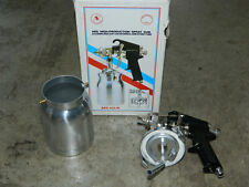 AES HIGH-PRODUCTION SPRAY PAINT GUN & DRIPLESS CUP WITH INTERNAL BREATHER TUBE