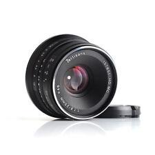 7artisans 25mm/f1.8 Manual Fixed Lens F Sony Emount A7/A7II/A6500/NEX-3 (Black)