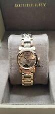 Burberry BU9234 Swiss Gold Tone Stainless Steel Women's Watch 26mm Original
