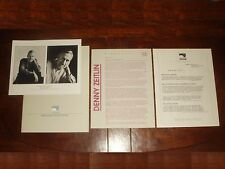 "Ultra Rare Denny Zeitlin ""Trio"" 1986 Windham Hill Records Press Kit - Bill Evans"
