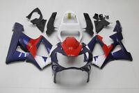 Blue Red Fairing Bodywork Injection Kit For Honda CBR900RR CBR 929RR 2000-2001