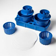 Cheese mold set for home cheesmaking +milk filters
