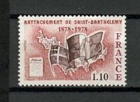 s25229) FRANCE 1978 MNH** St Barthelemy 1v