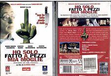 HO SOLO FATTO A PEZZI MIA MOGLIE (Woody Allen) - DVD NUOVO E SIGILLATO