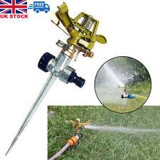 More details for uk 360° rotating water sprayer garden lawn farm watering irrigation sprinkler