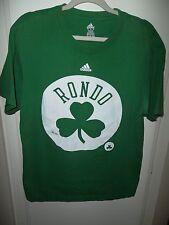 Adidas Rajon Rondo Boston Celtics T-Shirt Green White Large Cotton Shamrock