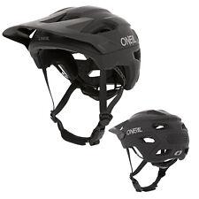 2021 ONeal Trailfinder Solid Schwarz Fahrrad Helm All Mountain Bike Trail MTB