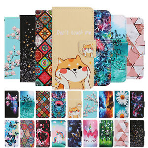 For Xiaomi Redmi Note 9 8 7 Case Magnetic Flip Leather Wallet Card Holder Cover