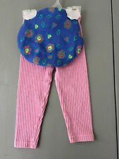 Infant Girl Gymboree Pink Pants 12-18 Months with S/M Sweater Hat