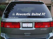 Newcastle United Football Autocollant Fenêtre Autocollant thématiques & logo 1m long FREE P&P