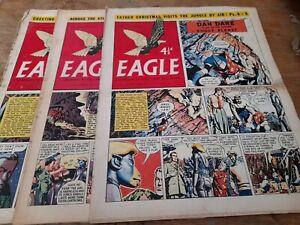 3 EAGLE COMICS,1955