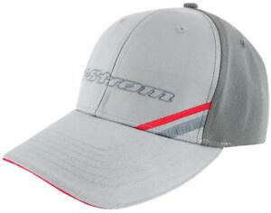 Suzuki V-Strom DL Embroidered Logo Adjustable Hat Grey Red