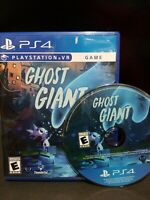 Ghost Giant Playstation 4 VR PS4  PSVR Very Rare Game