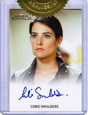 Agents Of S.H.I.E.L.D. SEASON 1 9-Case Cobie Smulders Maria Hill AUTOGRAPH Card!