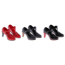 3 Pairs 1:6 Scale High Heel  Boots for 12'' Hot Toys Phicen Figure