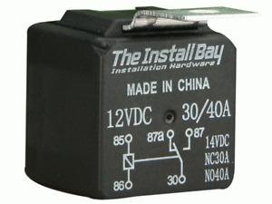 Metra & Install For Bay Economy 12 Volt 30 / 40 AMP Relay - Each - RL3040