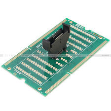 Laptop Notebook Memory DDR3 Test Card SO-UDIMM 204-Pin Out LED Light Tester