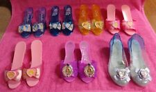 Disney Princess Play Dress Up Shoes Lot of 7 Aurora Cinderella Belle Elsa Sofia