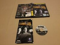 WWE WrestleMania X8 Player's Choice (Nintendo GameCube, 2004) manual included
