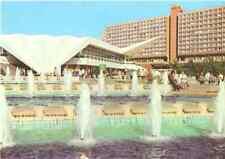 Postcard: Germany DDR - Berlin - Wasserspiele vor dem Fernsehturm