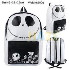 Anime The Nightmare Before Christmas Jack Backpack Computer Bag School Bag Gift