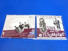 Chevalier Brothers - Live And Still Jumping -1998 Rock Jazz Swing CD (RARE)