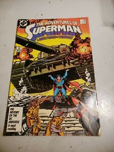 The Adventures of Superman #427 (Apr 1987, DC) Wolfman & Ordway