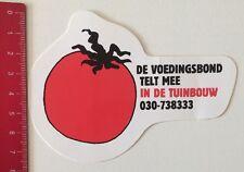 Aufkleber/Sticker: De Voedingsbond Telt Mee In De Tuinbouw (12061652)