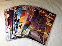 Lot Of 10 Teen Titans Comic Books #18-#27 2005 DC
