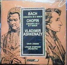 Bach/Chopin/Ashkenazy/Zinman   Concertos   London