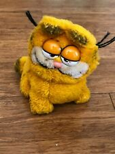 Vintage Plush Garfield 1981 Dakin Sitting Cat Collectible Stuffed Animal 7�