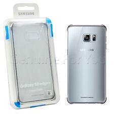 Samsung Coque transparente Galaxy S6 Edge Argent