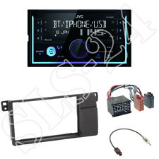JVC kw-x830bt Media Receiver + 2-din Kit Installazione Radio BMW 3er e46 1998-2007