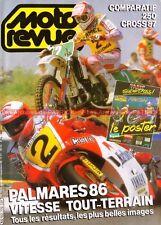 MOTO REVUE 2775 HONDA 250 CR YAMAHA YZ KAWASAKI KX SUZUKI RM KTM MX 1987 GP 1986