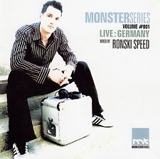 MONSTER SERIES VOL.1 - LIVE: GERMANY - MIXED BY RONSKI SPEED / CD - NEU