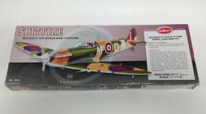 Guillow's Balsa Wood Model Spitfire Kit With Instructions Model 403 #202