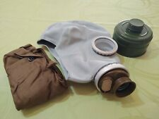 Russian made Gas Mask Gp-5 size M (2) Chem Bio Protection Nos Shipped from Us